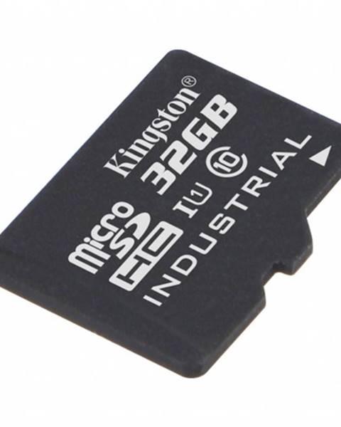 Kingston 32 GB microSDHC Kingston UHS-I Industrial Temp + bez adaptéra