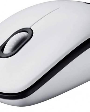 Káblová myš Logitech Corded MoM100, biela