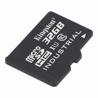 32 GB microSDHC Kingston UHS-I Industrial Temp + bez adaptéra