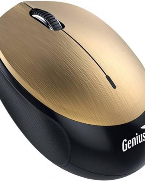 Genius Bezdrôtová myš Genius NX-9000BTU, dobíjacia, zlatá