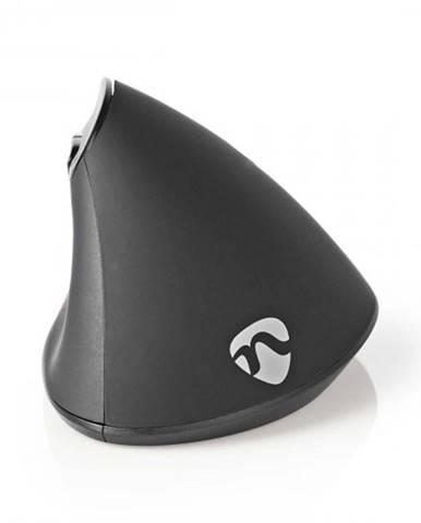 Káblová ergonomická myš Nedis ERGOMSWD100BK, čierna