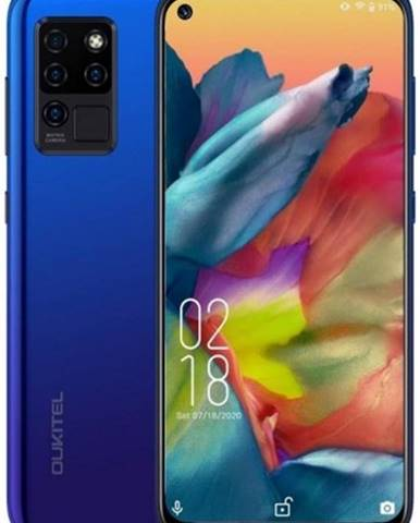 Mobilný telefón Oukitel C21 4 GB/64 GB, modrý