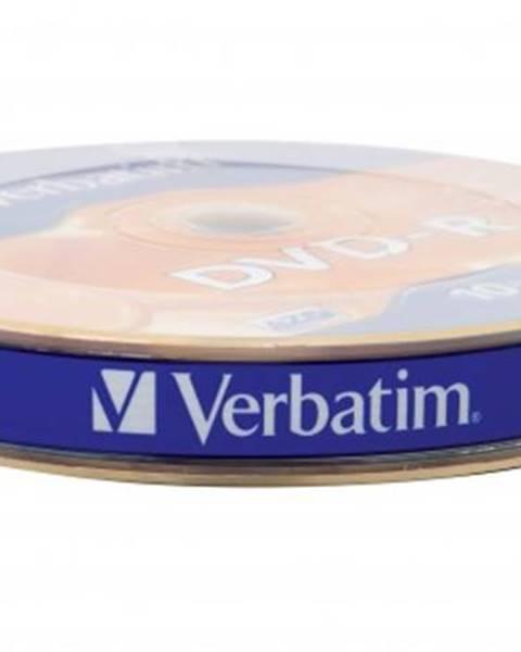 Verbatim DVD-R Verbatim 43729, 4,7GB, 16x, 10ks