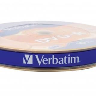 DVD-R Verbatim 43729, 4,7GB, 16x, 10ks