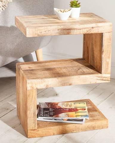 Príručný stolík MAKASSAR 60 cm