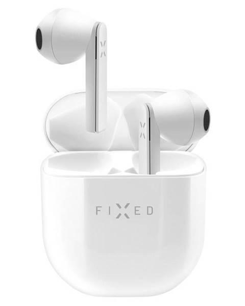 FIXED Slúchadlá Fixed TWS Boom Pods, double master biela