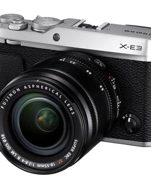 Fujifilm Digitálny fotoaparát Fujifilm X-E3 + XF18-55 mm strieborn