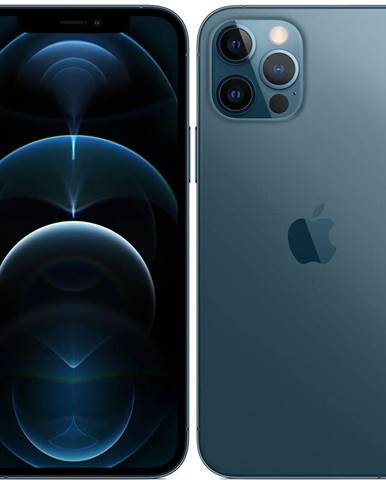 Mobilný telefón Apple iPhone 12 Pro Max 256 GB - Pacific Blue