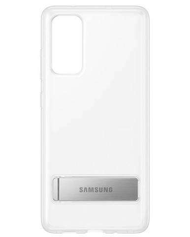 Kryt na mobil Samsung Clear Standing na Galaxy S20 FE priehľadný