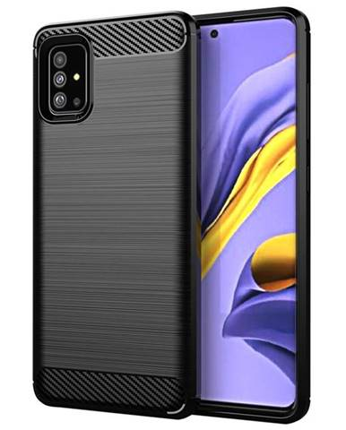 Kryt na mobil WG Carbon na Samsung Galaxy A51 čierna