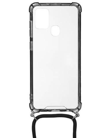 Kryt na mobil WG Crossbody na Samsung Galaxy A21s priehľadná