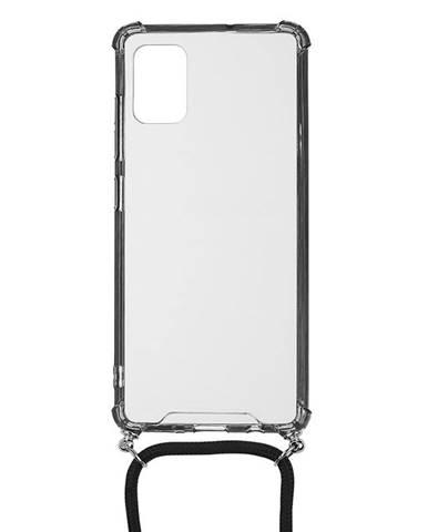 Kryt na mobil WG Crossbody na Samsung Galaxy A41 priehľadná