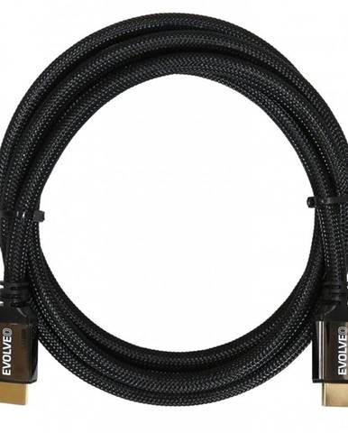 Kábel Evolveo Hdmi 2.1, 8K Ultra HD, 4K, 2K a FHD, 3m čierny