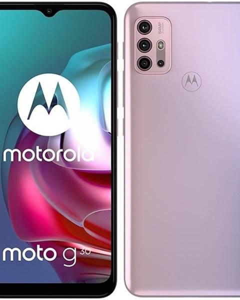 Motorola Mobilný telefón Motorola Moto G30 - Pastel Sky