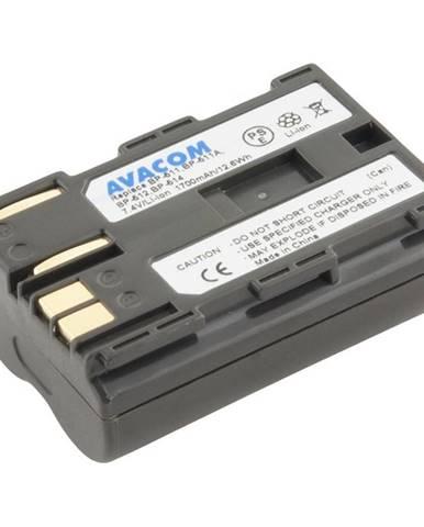 Batéria Avacom Canon BP-511/ 512 Li-Ion 7.4V 1700mAh 13Wh tmavě