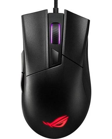 Myš  Asus ROG Gladius II Core čierna