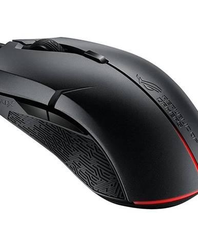 Myš  Asus ROG Strix Evolve čierna