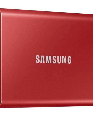 SSD externý Samsung T7 500GB červený
