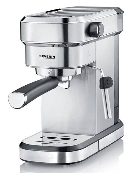 Severin Espresso Severin KA 5994 strieborn