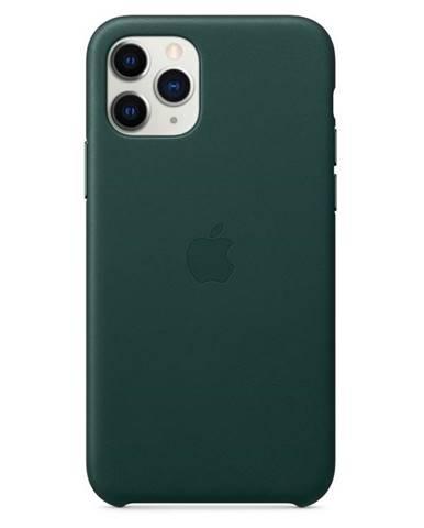 Kryt na mobil Apple Leather Case pre iPhone 11 Pro - píniovo zelený