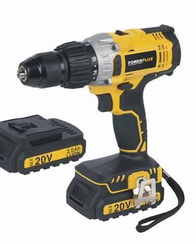Aku vŕtačka Powerplus Powx00450