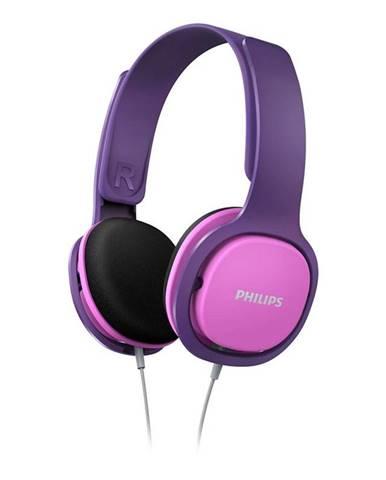 Slúchadlá Philips SHK2000 ružová/fialová
