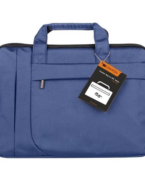 Canyon Brašna na notebook Canyon Fashion toploader modrá