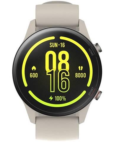 Inteligentné hodinky Xiaomi Mi Watch béžové