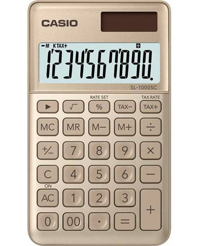 Kalkulačka Casio SL 1000 SC GD zlat