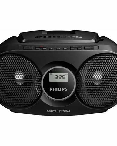 Rádioprijímač s CD Philips AZ215B čierny