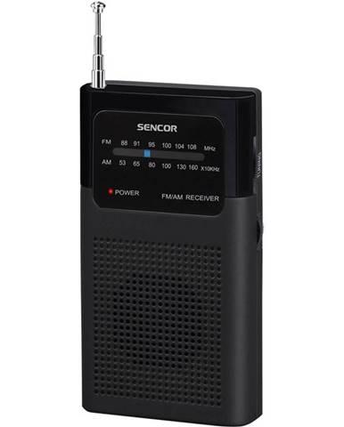 Rádioprijímač Sencor SRD 1100 B čierny