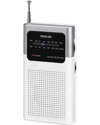 Rádioprijímač Sencor SRD 1100 W biely