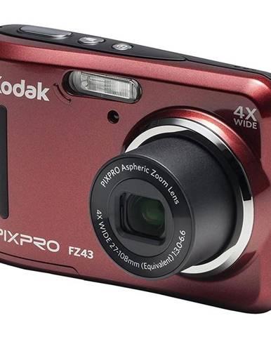 Digitálny fotoaparát Kodak Friendly Zoom FZ43 červený