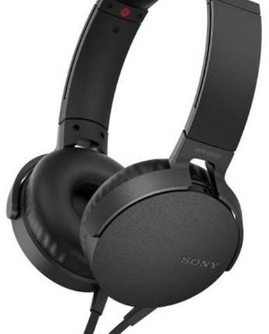 Slúchadlá Sony MDR-Xb550ap Extra Bass™ čierna