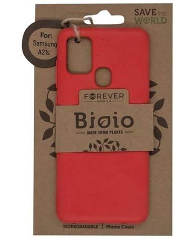 Kryt na mobil Forever Bioio na Samsung Galaxy A21s červený