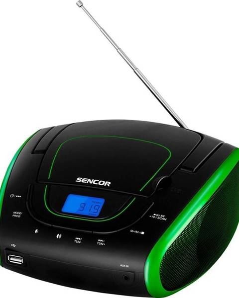 Sencor Rádiomagnetofón s CD Sencor SPT 1600 BGN