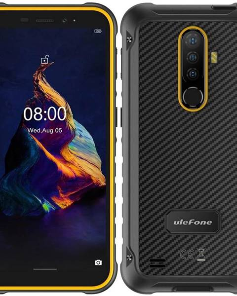 UleFone Mobilný telefón UleFone Armor X8 Dual SIM oranžový