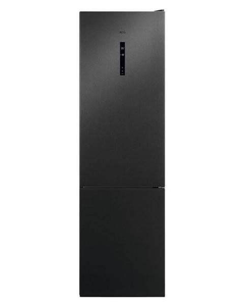 AEG Kombinácia chladničky s mrazničkou AEG Mastery Rcb736d5mb čierna
