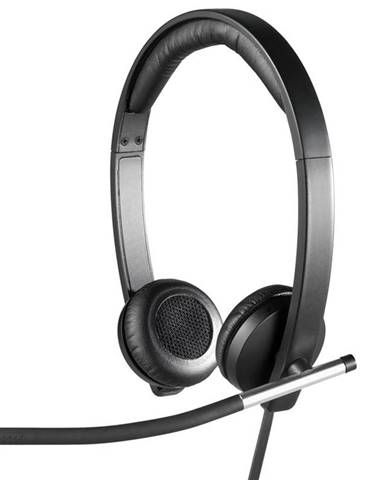 Headset  Logitech H650e čierny