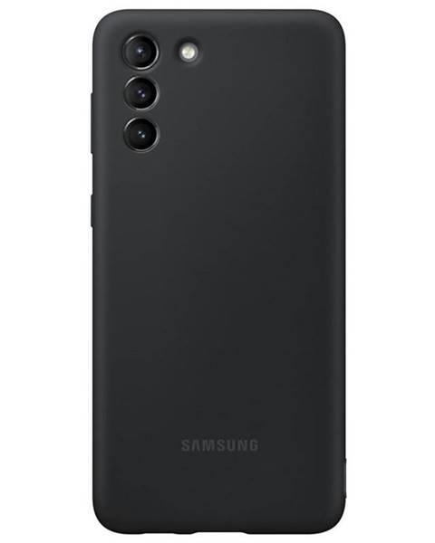 Samsung Kryt na mobil Samsung Silicone Cover na Galaxy S21+ 5G čierny