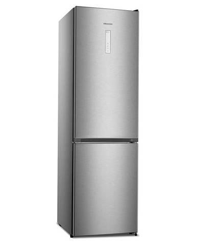 Kombinácia chladničky s mrazničkou Hisense Rb438n4bc3 nerez