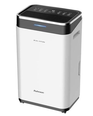 Odvlhčovač Rohnson R-9725 Ionic + Air Purifier čierny/biely