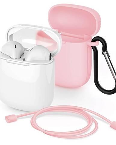 Slúchadlá Meliconi Safe Pods biela/ružová