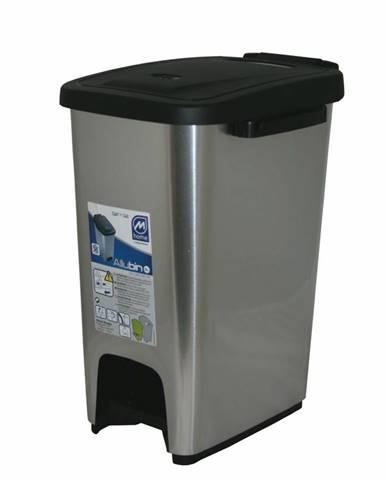 odpadkový kôš Mazzei ECOMETALFACE 16l