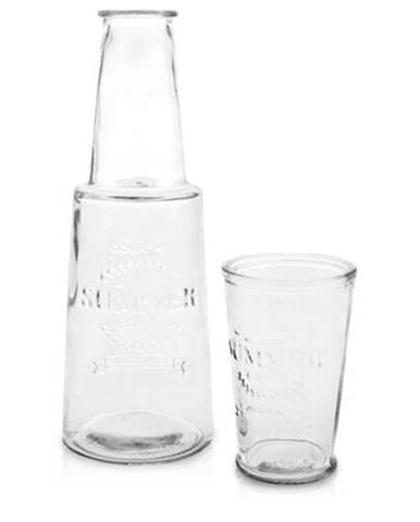 Karafa s pohárom, číra