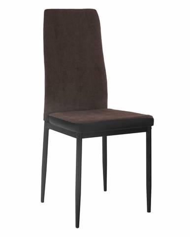 Enra jedálenská stolička tmavohnedá