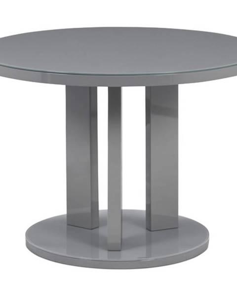 Sconto Jedálenský stôl JAXON sivá