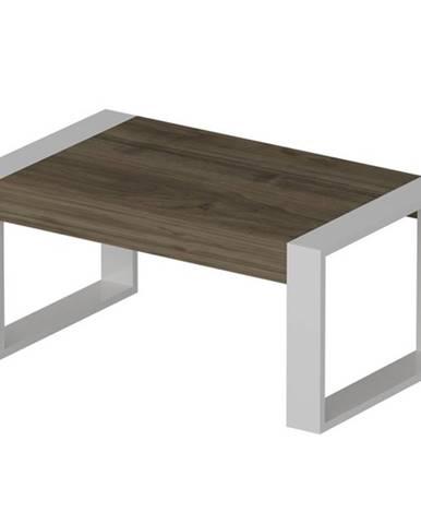 Konferenčný stolík RETRO orech/biela