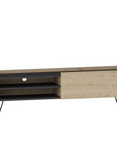 TV stolík VITAL dub/antracit