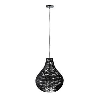 Čierne stropné svietidlo Zuiver Cable Drop